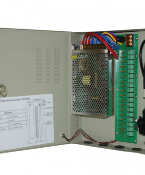 CCTV Power Supply 18 Way