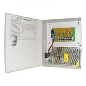 4 Way Channel Fused 12V DC CCTV Power Supply